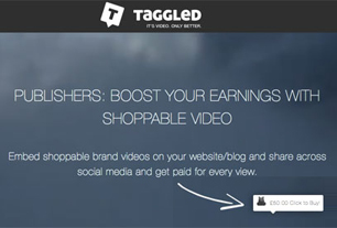 Taggled / Promote Your Brand Using Video