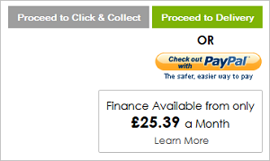 Finance Option displayed on Basket page