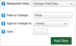 Change Field Type