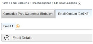 Add Email to Campaign