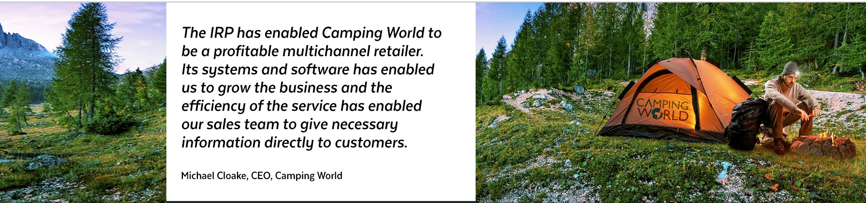 Camping World Quote