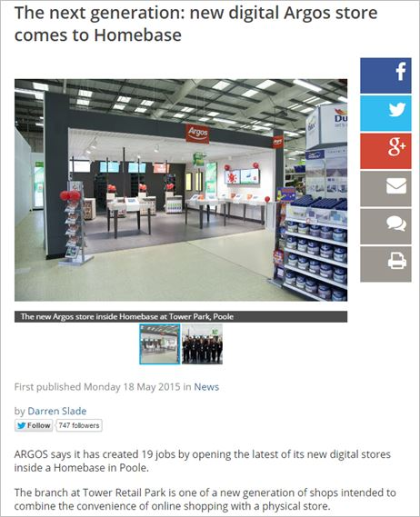 Argos — making the most of digital stores